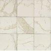 "Bedrosians Marmi Di Napoli Field 12"" x 12"" Porcelain Glazed Tile in Calacatta"