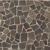 Bedrosians Hemisphere Crazy Stone Glazed Mosaic Tile in Sumatra