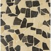 Bedrosians Hemisphere Random Sized Crazy Stone Mosaic Tile in Baltra Blend