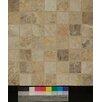 "Bedrosians Forge 2"" x 2"" Porcelain Unpolished Mosaic Tile in Mix Colors"