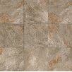 "Bedrosians Rok Textured Ink Jet 13"" x 13"" Porcelain Tile in Antracite"