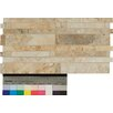 """Bedrosians Forge Staggered Listello 6.5"""" x 13"""" Porcelain Mosaic Tile in Mix Color"""