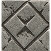 """Bedrosians Ambiance Insert Matrix City 1"""" x 1"""" Resin Tile in Pewter"""