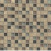 """Bedrosians Interlude Blend 3/4"""" x 3/4"""" Stone and Glass Mosaic Tile in Octave"""