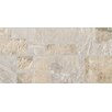 "Bedrosians Rok Listelo 6.5"" x 13"" Porcelain Mosaic Tile in Light Almond/Tufo"