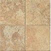 "Bedrosians Forge Brushed Texture 6.5"" x 6.5"" Porcelain Tile in Gold"