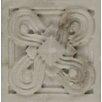 """Bedrosians Marmi Di Napoli Deco Insert 2.5"""" x 2.5"""" Resin Tile in Calacatta"""