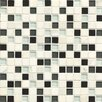 """Bedrosians Interlude Blend 3/4"""" x 3/4"""" Stone and Glass Mosaic in Hymn"""