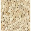 Bedrosians Hemisphere Pebble Stone Unglazed Mosaic Tile in Antiqua