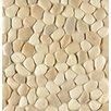 Bedrosians Hemisphere Random Sized Pebble Stone Mosaic Tile in Antiqua
