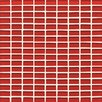 "Bedrosians Hamptons 1.19"" x 0.63"" Glass Mosaic Mini Brick in Buoy"