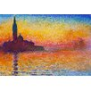 <strong>Epic Art</strong> San Giorgio Maggiore at Dusk Painting Print on Canvas