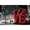 Epic Art Love Photographic Print on Canvas