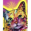 <strong>Epic Art</strong> 'Tilt Cat' by Dean Russo Graphic Art on Canvas