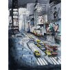 Epic Art 'Time Square' by Nicolas Jolly Painting Print on Canvas