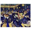 Epic Art 'The Dance Hall in Arles' by Vincent Van Gogh Painting Print on Canvas