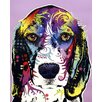 <strong>Epic Art</strong> 'Beagle' by Dean Russo Graphic Art on Canvas