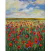Epic Art Poppies Painting Print on Canvas