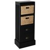 Gallerie Decor Nantucket 2 Drawer 2 Basket Chest