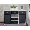 Gallerie Decor Burnside 6 Drawer 2 Door Cabinet