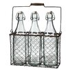 <strong>Giftware 3 Piece Bottle with Basket Set</strong> by Derry's