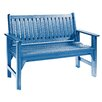 CR Plastic Products Generations Wood Garden Bench