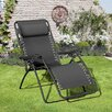 SunTime Outdoor Living Royale Gravity Chaise Lounge