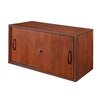 "Regency Sandia 30"" Wall Mount/Desk Surface Storage Cabinet"