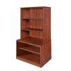 "Regency Sandia Low 55"" Hutch/Bookcase"