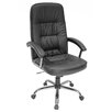 <strong>Carrera High-Back Leather with Metal Base Swivel Office Chair</strong> by Regency