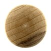 <strong>Allison Unfinished Wood Knob</strong> by Amerock