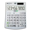 Teledex Hybrid Power 10 Digit Desktop Calculator