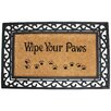 <strong>J and M Home Fashions</strong> Wipe Your Paws Doormat