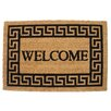 J and M Home Fashions Welcome Doormat