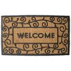 <strong>J and M Home Fashions</strong> Light Swirls Doormat