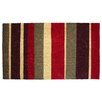 J and M Home Fashions Multi Stripe Doormat