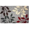 J and M Home Fashions Natural Ferns Doormat