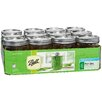 <strong>Hearthmark</strong> 1 Pint Wide Mouth Can or Freeze Canning Jar (Set of 12)