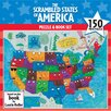 <strong>Ceaco Inc</strong> 150 Piece Scrambled States of America Puzzle and Book