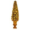 Queens of Christmas Ornament Tree in Urn