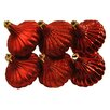 Queens of Christmas Ridged Onion Ornament (Set of 6)