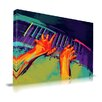 Maxwell Dickson 'The Player' Musician Graphic Art on Wrapped Canvas