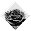 "Maxwell Dickson ""Black Rose"" Graphic Art on Canvas"