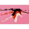 "Maxwell Dickson ""AK-47"" Painting Prints on Canvas"