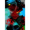 Maxwell Dickson 'Living Color' Graffiti Painting Print on Wrapped Canvas
