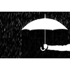 Maxwell Dickson 'Covered' Umbrella Graphic Art on Wrapped Canvas