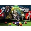 Maxwell Dickson 'Game Time' Graphic Art on Wrapped Canvas