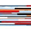 "Maxwell Dickson ""Stream"" Painting Print on Canvas"