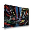 Maxwell Dickson 'The Path' Graffiti Graphic Art on Wrapped Canvas