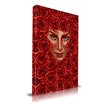 Maxwell Dickson Rose Bed Graphic Art on Canvas